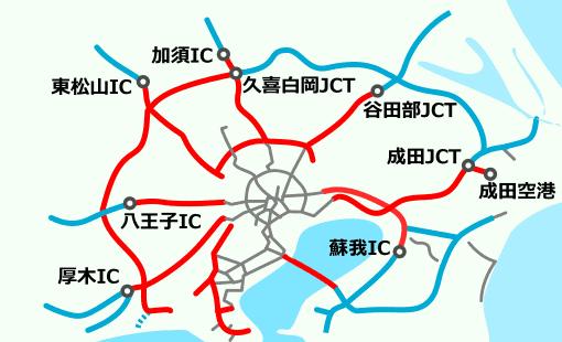 東京近郊区間