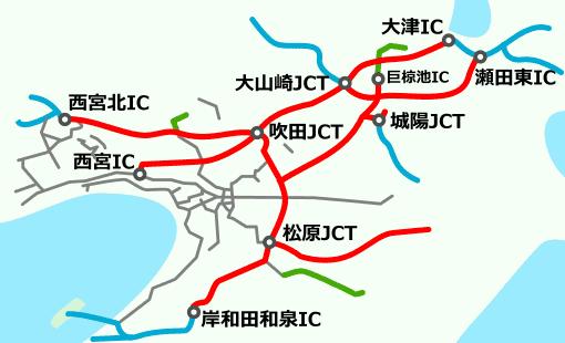 大阪近郊区間