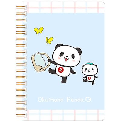 楽天カードお買いものパンダグッズリングノート(B6ワイド)~ピクニックシリーズ~