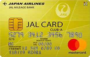 JALカード CLUB-A券面