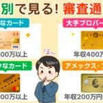 申込み先別!各ゴールドカード審査通過条件と必要年収:否決後の対策も