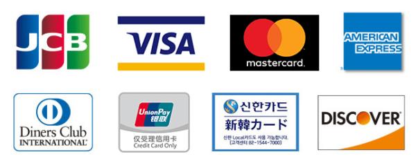 ファミリーマート公式HPより。上段左から二番目に「VISA」のロゴマークが見られます