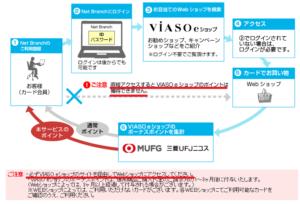 VIASO eショップ購入手続き注意
