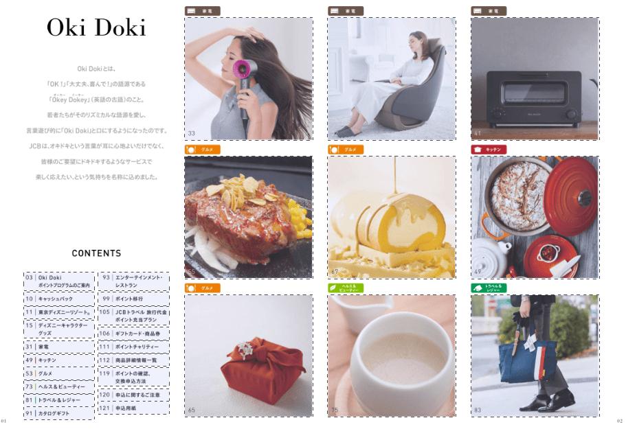 Oki Dokiポイントプログラム2018電子カタログ