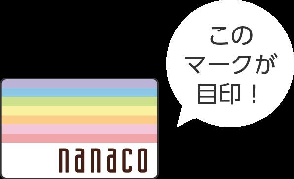 nanacoマーク