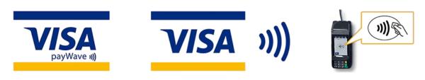 VISAのタッチ決済(非接触決済)