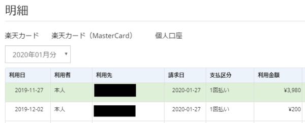 実際に「弥生の青色申告」でデータ連携を行ってみた結果(楽天カード)