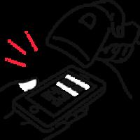 QRコード決済の利用イメージ